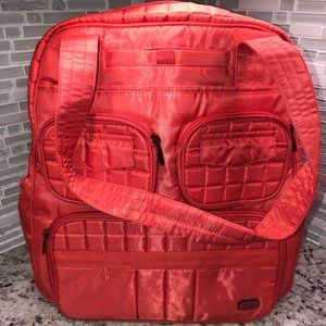 Lug Puddle Jumper Overnight Gym Bag Coral New